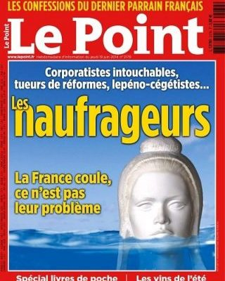 Le Point címlap